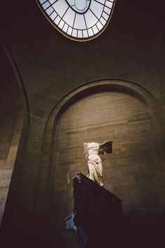 Louvre museum, Paris: The Winged Victory of Samothrace