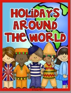 Holidays around the world - mega bundle:  Includes fluency centers, mini books, and interactive journal printables for:  Christmas in Germany, Great Britain, Mexico, France, Sweden, and the Congo, Hanukkah, and Kwanzaa.  paid