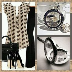 South Hill Designs -Work or play beautifully laid out outfit! Create your locket here! https://www.southhilldesigns.com/jessicakeeley