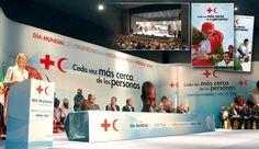 Stand Cruz Roja y Media Luna Roja, Pantuás Diseño Gráfico