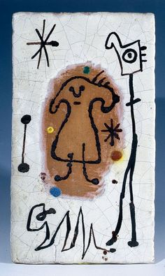 Successió Miro is an entity formed by the heirs to the estate of Joan Miró which administrates the rights of the artist's works. Joan Miro, Jean Arp, Alberto Giacometti, Spanish Artists, Paul Klee, China Art, Mark Making, Ceramic Artists, Whimsical Art