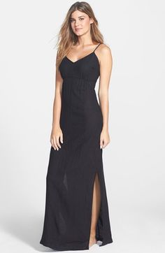 d1e61c1f90914 Solow Loop Back Maxi Dress Cover-Up available at  Nordstrom Women s One  Piece Swimsuits