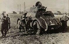 Autoblinda AB 40 - Regio Esercito WWII - pin by Paolo Marzioli