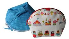 Blush Bunny's Round Zipper Pouch + How to Use a Zipper Foot