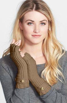 cute Michael Kors fingerless gloves http://rstyle.me/n/sucqrr9te
