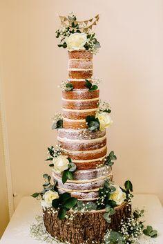 Floral Hall Wedding - Staffordshire WEdding Photography - Gemma & Dan-436 Wedding Cake