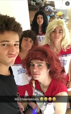 Cameron dallas,aaron carpenter,dolan twins, Jack Dail♥♥My bae aaron doesn't look very happy...