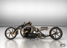 Black Widow Custom Steampunk Chopper - I think I just died and went to heaven