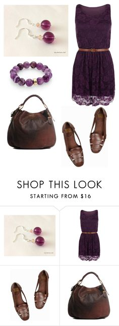 """""""Purple and Brown Outfit!"""" by lilyandjunellc ❤ liked on Polyvore featuring WearAll, Prada, Nest, women's clothing, women's fashion, women, female, woman, misses and juniors"""