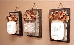 Mason jars idea!