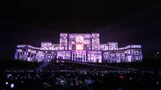 This is one of the biggest mapping in the word. Location: Bucharest, Romania 2014 1 building 104 projectors 100.000 people 2.000.0000 ansilumens More info: h...