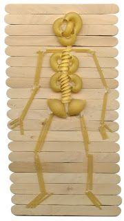 Cute way to teach the skeleton to kids.