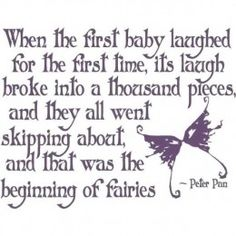 Peter Pan ~ Do you believe in fairies? I do, I do believe in fairies.Fairy Tales Do Come True! The Words, Wall Quotes, Me Quotes, Famous Quotes, Moment Quotes, Quotes Images, Book Quotes, Quotes Distance, Fairy Tail