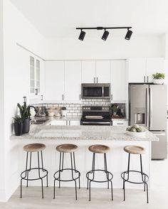 ameublement pour cuisine design contemporain avec meubles naturels
