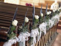 isle decorations for wedding | ... and Chair Floral Decor Aisle Wedding Flowers – Wedding Flowers Blog