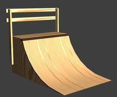 this instructable will show you how to easily make a perfect quarter pipe with:      4: sheets of 1/4 inch 4 by 8ply wood    6: sheets of 1/2 inch 4 b...