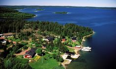 White nights in Finland's Åland archipelago offer Amelia Gentleman and her kids a magical experience of log cabins and carefree cycling
