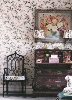 Flower heaven from dustjacket attic: Georgian Style | Floral | Countryside