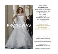 PRONOVIAS wedding show !