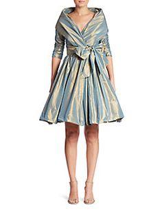 e3962cebe99b7b Catherine Regehr - Classic Shawl-Collar Silk Dress. If it were longer I  would