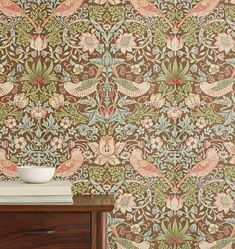 Search Results for strawberry-thief-cole-son-wallpaper-chocolate-slate Mirrored Wallpaper, Wall Art Wallpaper, New Wallpaper, Designer Wallpaper, Wallpaper Designs, William Morris Wallpaper, Morris Wallpapers, Floral Wallpapers, Vintage Wall Art