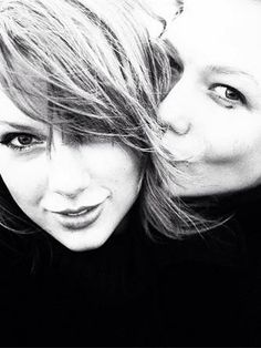 { Karlie Kloss and Taylor Swift }