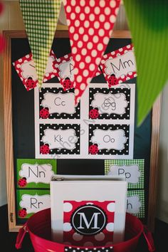 Lovely Ladybugs Word Wall Labels from Schoolgirl Style on TeachersNotebook.com (8 pages)  - Lovely Ladybugs Word Wall Labels