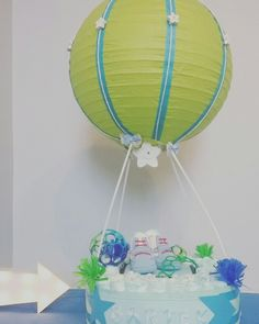 Tort z pampersow/dipers hot baloon