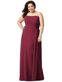 Lovelie Plus Size Bridesmaid Style 9004 http://www.dessy.com/dresses/bridesmaid/9004/