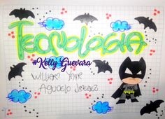 #cuadernos #kellyguevara Batman, My Notebook, Autism Awareness, Diy And Crafts, Snoopy, Stamp, Entertaining, Drawings, Anime