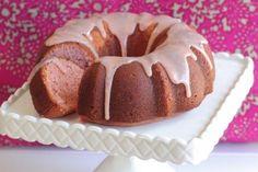 Buttermilk Strawberry Bundt Cake