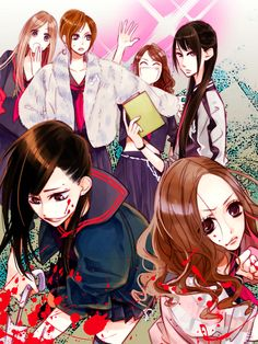Shibuya , Sado  , Black, Yuko , Gekikara and Torigoya. Movie Majisuka Gakuen