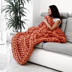 Terrific Screen arm knitting supplies Tips Excited to share the latest addition to my shop: Giant Blanket, Merino Wool Blanket, Chu Giant Knit Blanket, Chunky Blanket, Weighted Blanket, Giant Knitting, Vogue Knitting, Arm Knitting, Chunky Knit Throw, Chunky Wool, Knitted Blankets