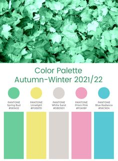 Colour Schemes, Color Trends, Color Combos, Autumn Inspiration, Color Inspiration, Pantone 2020, Fall Color Palette, Future Trends, Fashion Forecasting