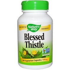 Shop the best Nature's Way Blessed Thistle 390 mg 100 Veg Caps products at Swanson Health Products. Trusted since we offer trusted quality and great value on Nature's Way Blessed Thistle 390 mg 100 Veg Caps products. What Is Spirulina, Blessed Thistle, Good Manufacturing Practice, Milk Thistle, It Goes On, Dairy Free, Gluten Free, Herbalism, Vegetarian