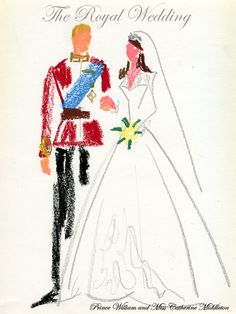 """The royal wedding of Prince William and Miss Catherine Middleton"""