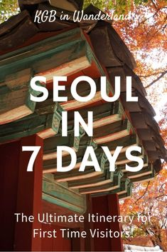 Seoul Itinerary, week in Seoul, things to do in Seoul, family travel in Seoul, first time in Seoul #seoul #southkorea #itinerary South Korea Travel, Asia Travel, Time Travel, Travel Plane, Japan Travel, Busan, Travel Guides, Travel Tips, Food Travel
