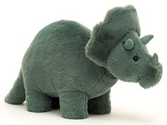 Jellycat Fossily Dino TRICERATOPS Jellycat, Dinosaur Stuffed Animal, Toys, Baby, Animals, Products, Dinosaurs, Toy, Activity Toys