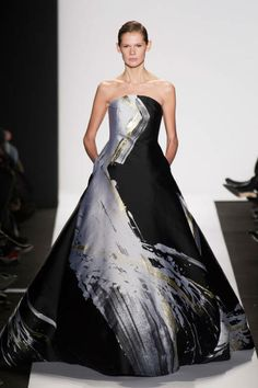 The most outrageously gorgeous gowns from NYFW 2014: Dennis Basso
