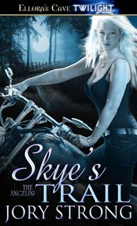 Free Book - Skye's Trail, the first title in The Angelini series by Jory Strong, is free in the Kindle store and from Barnes & Noble, AllRomance and direct from the publisher, Ellora's Cave.