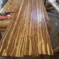Custom 100% Strand Woven Bamboo Flooring Planks