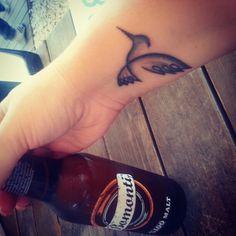 #tattoo #humingbird #bird