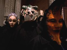 """""""Eyes Wide Shut"""" Stanley Kubrick... obsessed with the masks"""