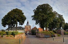 The historical town of Elburg, Holland.