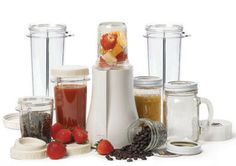 Tribest PB-350XL BPA FREE Mason Jar Personal Smoothie Blender BONUS PACK NEW-1 Each
