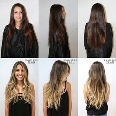 impressive hair colour transformation