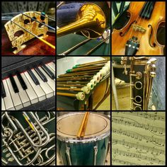Pics from tonight's rehearsal I play with a lot of cool people who help feed my instagram addiction :) #musicofinstagram #music #classicalmusic #sheetmusic #notes #symphony #orchestra #strings #violin #violinist #percussion #drummer #drumset #drums #oboe #clarinet #trombone #frenchhorn #piano #keyboard #GSO #GrossmontSymphonyOrchestra #rehearsal #ninegrid by llyzabeth