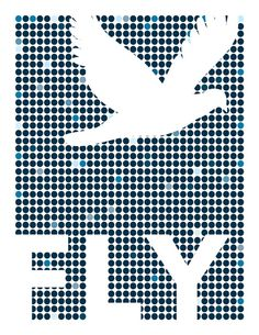 FLY - An Inspiring Print to Brighten Your Walls. $16.00, via Etsy.