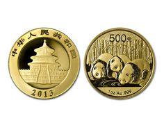 Chinese Panda 1 Oz Gold Coin