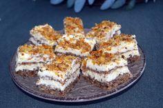 Prajitura cu nuca si crema de vanilie - Rețete Papa Bun Tiramisu, Cake Decorating, French Toast, Breakfast, Ethnic Recipes, Food, Mascarpone, Recipes, Morning Coffee